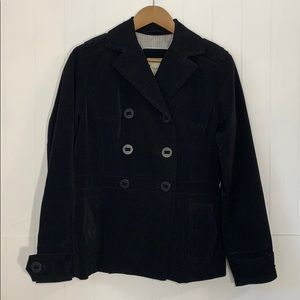 Classic Elements Women's Double Breasted Coat Sz S